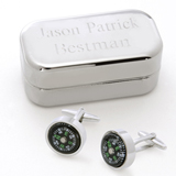 Dashing Cufflinks with Personalized Case