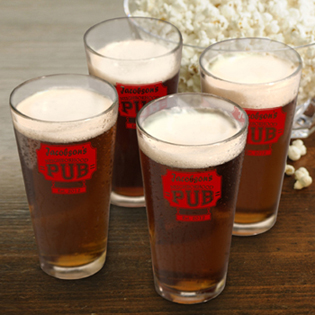 Personalized Pub Glass Set