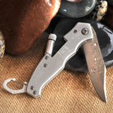 Wholesale Personalized Klondike Lockback Knife with Flashlight