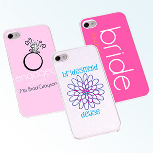 Bride and Bridesmaid iphone Cases