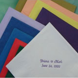 Imprinted Napkin Favors (50 Napkins per Package)