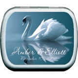 Wedding Mint Tins - Graceful Swan
