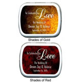 Wedding Mint Tins - Shades of Love