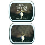 Personalized Mint Tins - Golf Theme