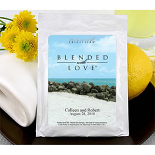 Personalized Beach Theme Lemonade Favors