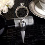 Bling A Diamond Ring Silver Wine Stopper