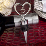 Love within My Heart Silver Bottle Stopper