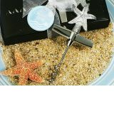 Chrome Starfish Design Wine Opener