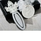 Queen for a Day Sparkling Tiara Bookmark Favor