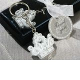 Queen for a Day Sparkling Tiara Keychain Favor
