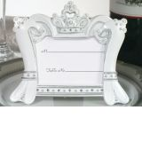 Queen for a Day Sparkling Tiara Place Card Frame Favors