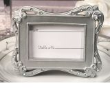 Stylish Silver Place Card Frame