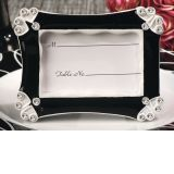 Contemporary Black and White Epoxy Photo Frame