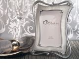 Classically Styled Silver Photo Frame Favor