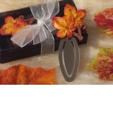 Splendid Autumn Themed Bookmark Favor