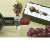 Murano Art Deco Collection Grapes Wine Stopper