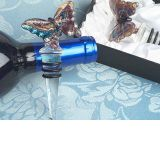 Murano Art Deco Collection Butterfly Wine Stopper