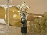Murano art deco wine pourer- stopper Starfish design