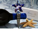 Murano Art Deco Collection Starfish Wine Stopper