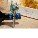 Murano Art Deco Collection Unique Golden Blue Design