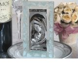 Murano Art Deco Icon with Frosted White Glass Accents