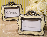 Victorian Style Ivory Epoxy Photo Frame