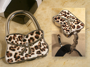 Stylish Leopard Design Handbag Holder