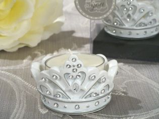 Queen for A Day Sparkling Tiara Candle Holder