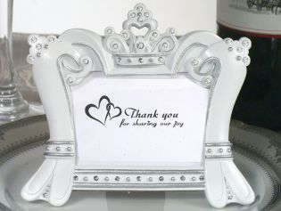 Queen for a Day Sparkling Tiara Photo Frame Favors