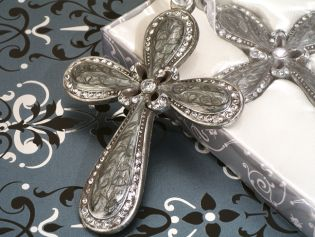 Blessed Events Elegant Enamel Cross Collection