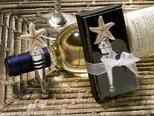 Starfish Design Wine Stopper