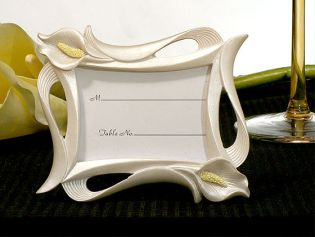 Calla Lily Photo or Place Card Frame