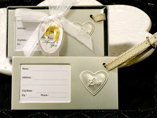 The Love within My Heart Luggage Tag