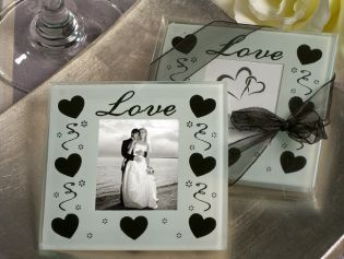 Celebration of Love Photo Coaster