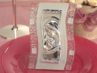 Murano Art Deco Icon with Pink Glass Accents