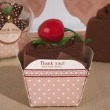 Sweet Treats Collection Chocolate Cupcake Towel Favor