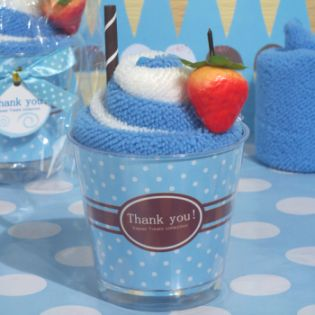 Sweet Treats Collection Blueberry Sundae Towel Favor
