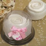 Sweet Treats Collection White Rose Towel Favor