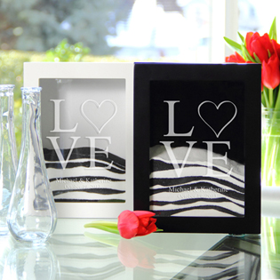 Love Collection Sand Ceremony Shadow Box Sets (3 Designs Available)