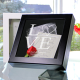 Love Collection Wedding Wishes Keepsake Shadow Box