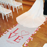 Love Collection Aisle Runners (2 Designs Available)