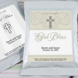 Personalized Christening Theme Coffee Favors, White Bag - (3 designs available)