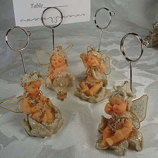Small Fairy Place Card Holder
