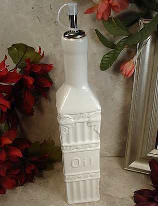 Couture Line Ceramic Oil Bottle