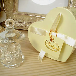Mini Crystal Carousel in Satin-Lined Heart Box