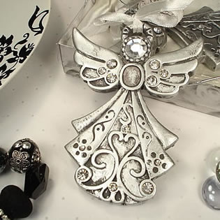 Angel Ornament - Silver Design