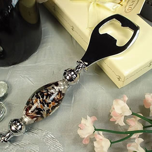 Murano Design Damask Design Bottle Opener