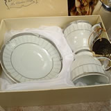 2 Cup 2 Saucer in Square Box - Classic