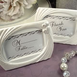 Deluxe Placecard Photo Frame Hearts Design