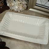 Couture Line Ceramic Deep Rectangular Platter